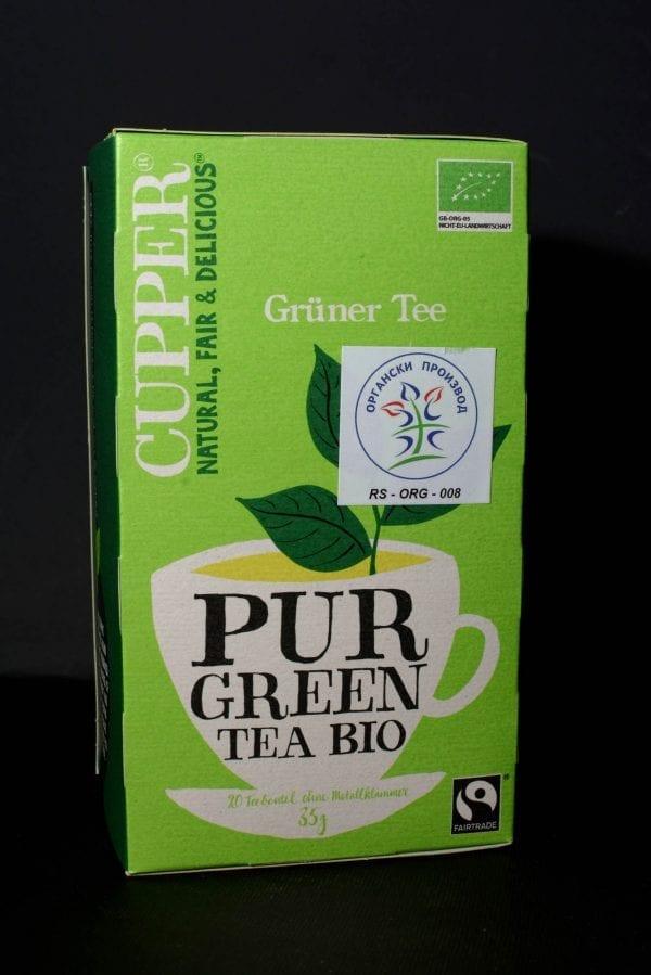 Čaj pur green
