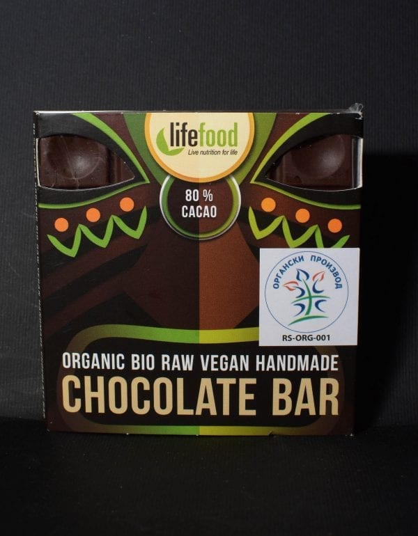 Čokolada 80% kakao vegan 35g