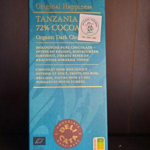 Čokolada Tanzanija 72% cacao 100g