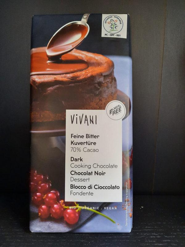 Čokolada za kuvanje 70% cacao 200g