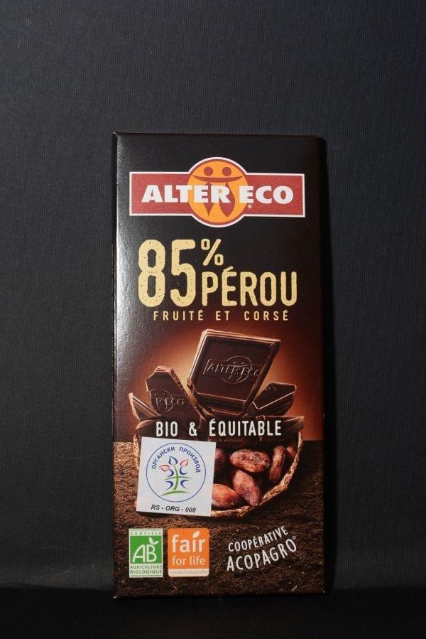 Crna čokolada 85% kakao 100g