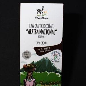Crna čokolada ariba 76% kakao 40g
