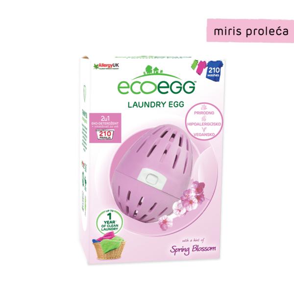 Ecoegg deterdžent i omekšivač za veš 210 pranja miris proleća