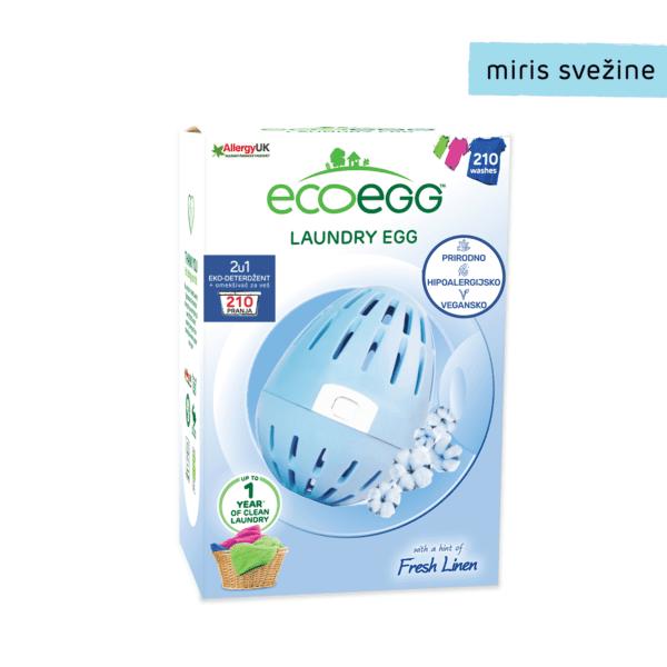 Ecoegg deterdžent i omekšivač za veš 210 pranja miris svežine