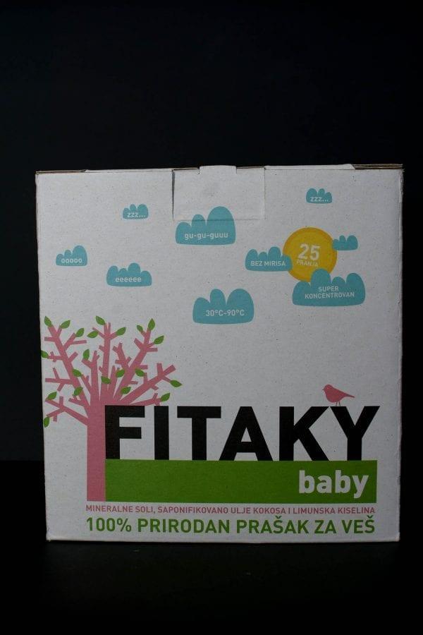 Fitaky baby prirodan prašak za veš 900g