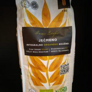 Ječmeno integralno brašno 1kg - organik Ecoagri