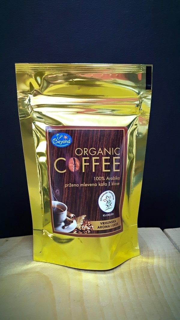 Kafa mlevena organik 100g Beyond
