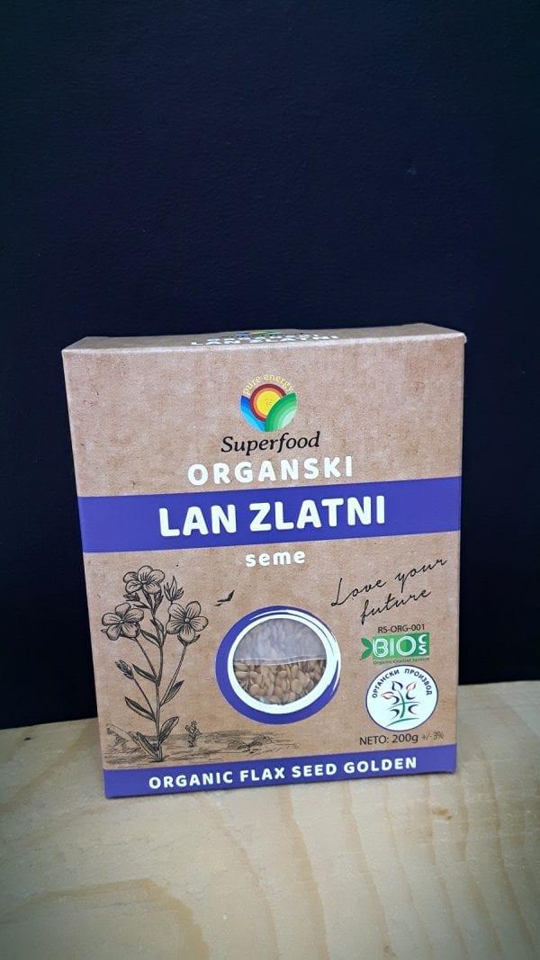 Organski lan zlatni 200g