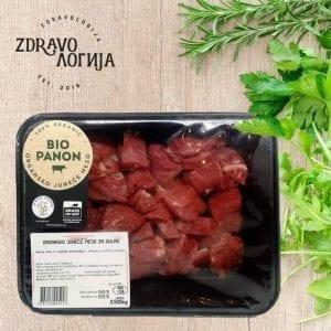 Organsko juneće meso za gulaš