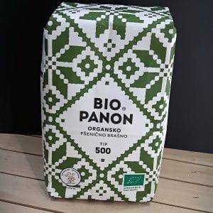Pšenično brašno tip500 Bio Panon 1kg - organik