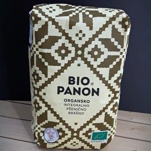 Pšenično integralno brašno Bio Panon 1kg - organik