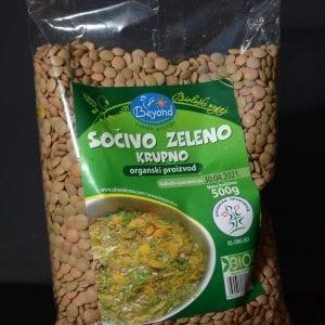 Sočivo zeleno 500g