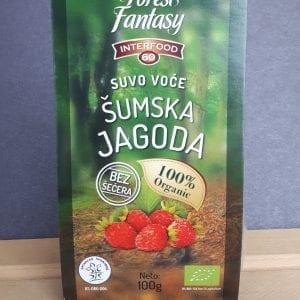 Sušena šumska jagoda 100g - Interfood60