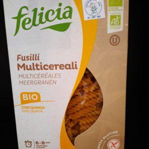 Testenina multicereali bez glutena.(kukuruz, pirinač, heljda, kinoa) 340g