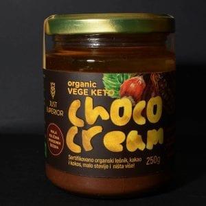 Vege keto choco cream 250g