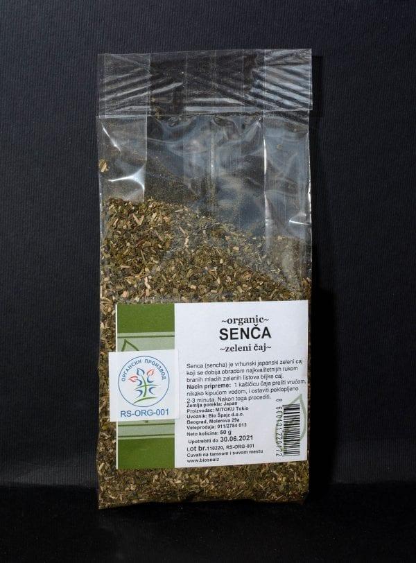 Zeleni čaj senča 50g